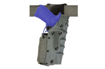 Safariland Military Tactical Holster - OD Green, Right 3285-73-561