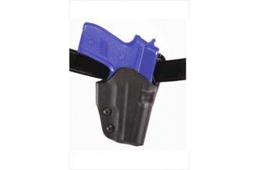Safariland Model 0708 Concealment Paddle Holster - STX Black, Right Hand 0708-73-131