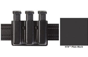 Safariland Model 775 Slim Triple Mag Pouch Open Top STX Black SW 59 Ber 92 775-76-13