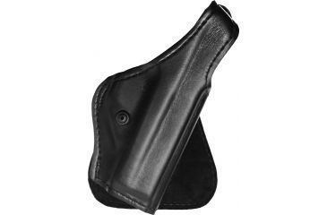 1-Safariland 518 Paddle Holster - Plain Black, Right Hand 518-283-61