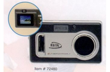 Sakar 4.1 Megapixel Digital Camera w/ 3x Optical Zoom 72480