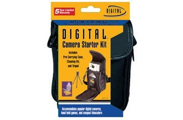 Sakar Digital Camera Starter Kit (DC-70 Case/TR023 Tripod/LCK-3 Lens Kit) DC-115