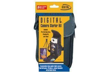 Sakar Digital Camera Starter Kit (DC-80 Case/TR023 Tripod/LCK-3 Lens Kit) DC-215