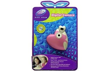 Sakar Girl Gear Digital Camera - Heart Shaped - Heart 14097 Heart