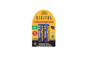 Sakar 2 AA 8.5 Minute Rechargeable Batteries BP-8.5