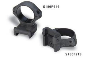 Sako Sako Optilock Ring And Base Set Phosphate Finish 1in Diameter Low Fits Picatinny Rails S180f919