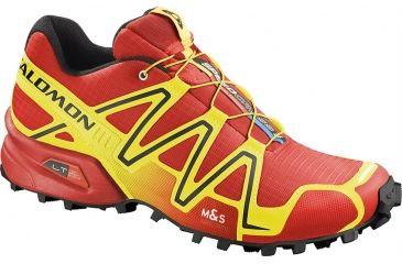Salomon Men's Mountain Trail Series Speedcross 3 Running Shoe,Canary Yellow,7 36208926
