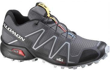 Salomon Men's Mountain Trail Series Speedcross 3 Running Shoe,Dark Cloud,7 32978526