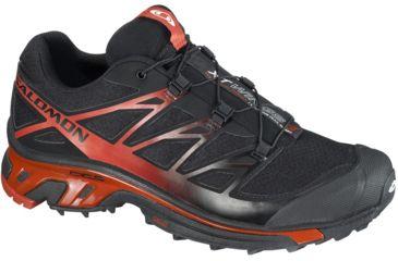 Salomon Men's Mountain Trail Series XT Wings 3 Running Shoe,Black,7 35674126