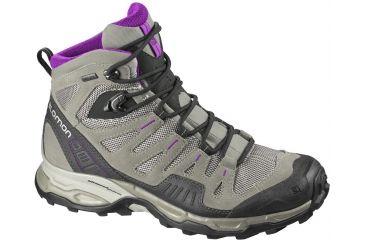 Salomon Womens Backpacking Series Conquest GTX Hiking Shoe,Titanium,5.5  32798121