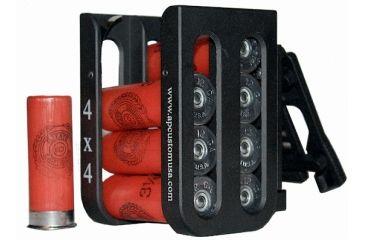 Samson 3x3 Shell Caddy with Blade Tech Belt Clips, Black APSC3