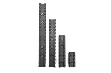 Samson KM-4-KIT Evolution Keymod Rail Kit 4'' 1 Rail 6061-T6 Anodized Alum Blk