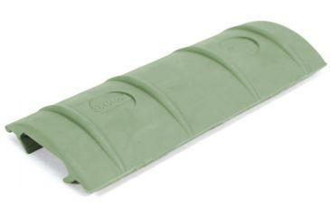 Samson Picatinny Rail Cover - 10 Slots, Foliage Green