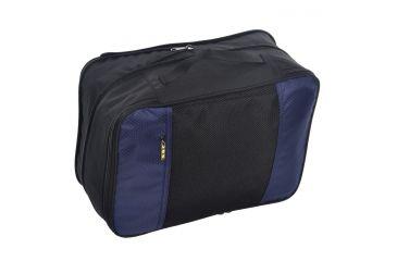 Sandpiper of California Bloq Expandable Bag, Blue 1107-O-BLU