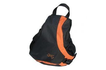 Sandpiper of California Slider Deluxe Backpack, Black/Orange 6615-O-ORG