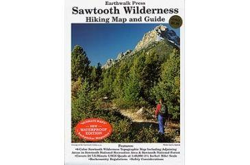 Sawtooth Wilderness Hk Map Gd, Earthwalk Press, Publisher - Earthwalk Press