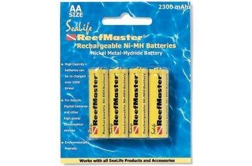 Sealife SL191 ReefMaster 4-pack Batteries - 2300 mAh