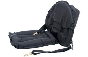 Seattle Sports Kayak Seat, with Back, Black 100383