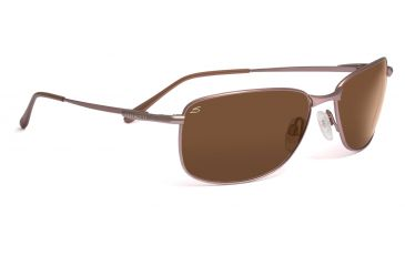 Serengeti Sassari Sunglasses - Shiny Gunmetal Frame, Drivers Polarized Lenses 7665