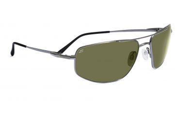 Serengeti Volterra Sunglasses - Satin Gold/Dark Tortoise Frame, Drivers Gold Polarized Lenses 7592