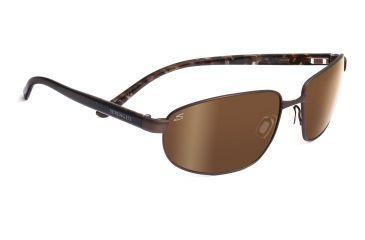 Serengeti Palladio Sunglasses - Shiny Silver Frame, Polar PhD 555nm Lenses 7569