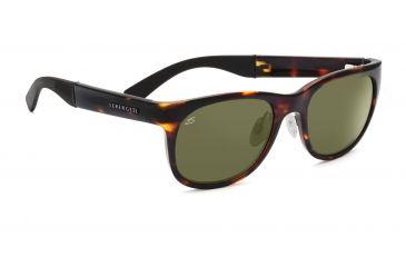 Serengeti Piero Sunglasses - Shiny Bubble Tortoise Frame, Drivers Lenses 7639