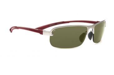 Serengeti Lorenzo Sunglasses - Satin Dark Brown/Shiny Cognac Frame, Drivers Lenses 7651