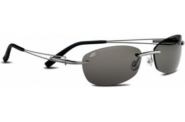 Serengeti Altura Shiny Sunglasses, Gunmetal Polar PhD CPG Lens 7351
