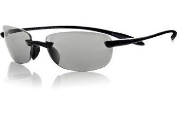 Serengeti Polar Max Argon Sunglasses 7007 Shiny Black Frame, Polarmax CPG Lens