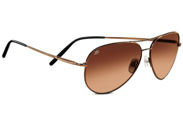 595a99fdb2d3 Serengeti Aviator Sunglasses, Medium - 59mm, Henna Frame, Drivers Gradient  Lens 6826