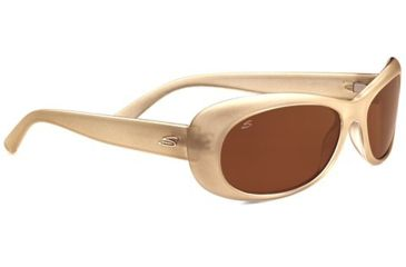 Serengeti Bella Sunglasses - Oyster Pearl Frame and Polarized Drivers Lens 7746