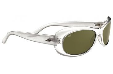 Serengeti Bella Sunglasses - Silver Pearl Frame and Polarized 555nm Lens 7745