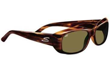 Serengeti Bianca Single Vision Rx Sunglasses - Dark Stripe Tort  Frame 7366