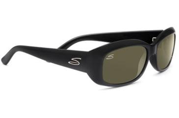 Serengeti Bianca Progressive Rx Sunglasses - Shiny Black Frame 7364