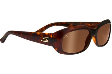 Serengeti Bianca Single Vision Rx Sunglasses Dark Tortoise Frame 7699