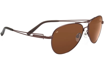 Serengeti Brando Single Vision Rx Sunglasses Velvet Espresso Frame 7543