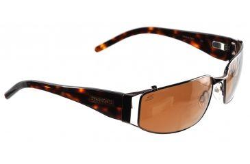 Serengeti Canova Sunglasses 7277, Espresso/Tortoise Frame, Drivers Polarized Lens