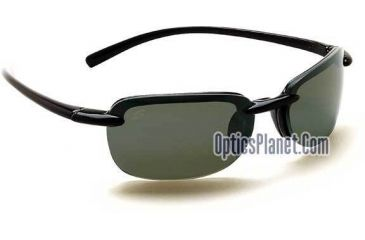 Serengeti Cirro Shiny Black frame PolarMax Polarized Photochromic lens Sunglasses 6841