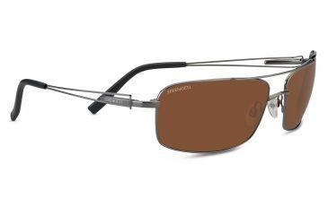 b9c163c09bd6 Serengeti Dante Sunglasses, Shiny Gun Frame, Drivers Polarized Lens