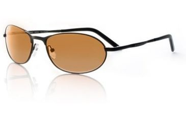Serengeti Hurikanu Sunglasses Matte Black/Drivers