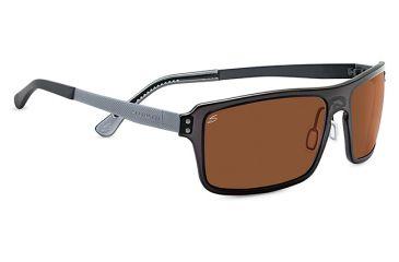 Serengeti Duccio Sunglasses, Genus Crystal Dark Charcoal Frame, Polar PhD Driv 7899