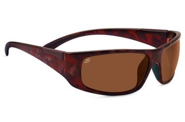 Serengeti Fasano Single Vision Prescription Sunglasses, Shiny Taupe Tortoise Frame-7918SV