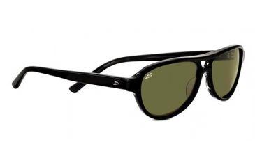 Serengeti Imperia Sunglasses - Black  Gray Tortoise Frame and Polarized 555nm Lens 7783