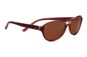 Serengeti Imperia Sunglasses - Wine Frame and Polarized Drivers Lens 7785