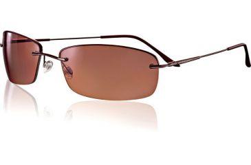 Serengeti Polarmax Leggero Sun Glasses - Espresso Frame, Polarmax Drivers Lenses 6906