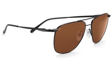 Serengeti Marco Single Vision Rx Sunglasses Satin Black Frame 7545