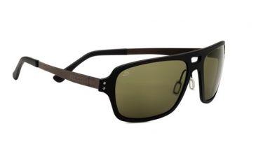 Serengeti Nunzio Sunglasses, Satin Black 7837RX