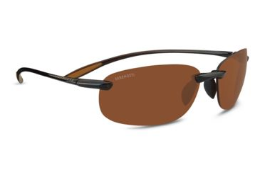 40ad1c36245d Serengeti Nuvino Single Vision Rx Sunglasses - Shiny Brown Frame 7316