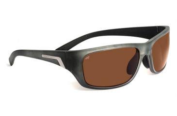Serengeti Orvieto Sunglasses - Satin Crystal Smoke Fade Frame, Polar PhD Drivers Lenses 7618