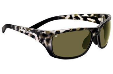 Serengeti Orvieto Sunglasses - Black Tortoise Frame and Polar PhD 555nm Lens 7754